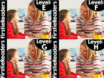 FirstieReaders™ Levels: E-H *GROWING* BUNDLED *ENGLISH AND SPANISH*
