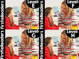FirstieReaders® Levels: E-H BUNDLED *ENGLISH AND SPANISH* Distance Learning