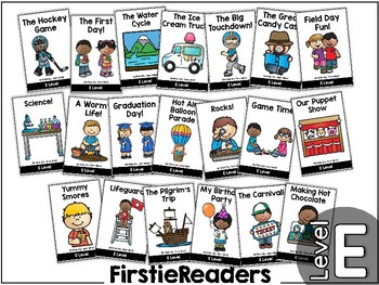 FirstieReaders® Levels: E-H BUNDLED Distance Learning   Homeschool Compatible  