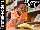 FirstieReaders® Levels: K and L Nonfiction Bundle