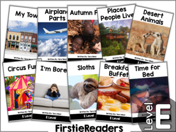 FirstieReaders™ Nonfiction Level: E *ENGLISH AND SPANISH*