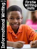 FirstieWriting: Unit Six Nonfiction Writing