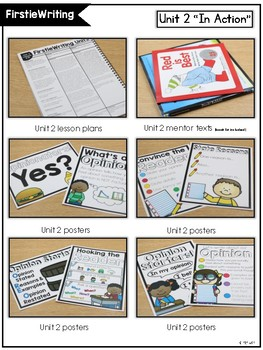 FirstieWriting: Unit Two Opinion Writing