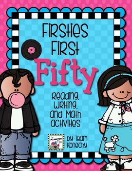 Firsties First Fifty Days of School