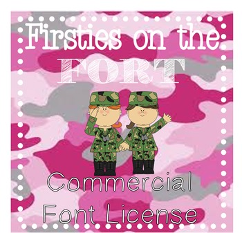 Firsties on the Fort {{Font Package 1}}