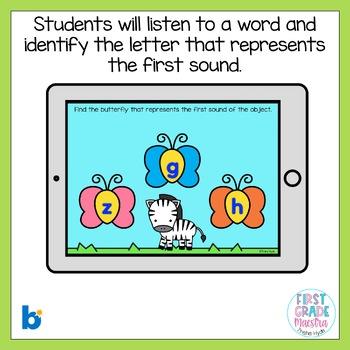Boom Cards First Sound Fluency
