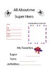 Firts Day of School Activitiy, Classroom form Super Hero
