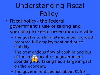 Fiscal Policy PowerPoint