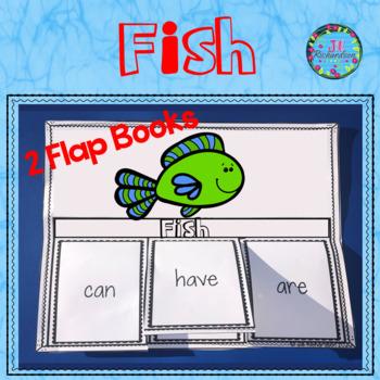Ocean Animals - Fish Writing Flap Books