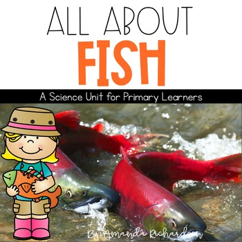 Fish Unit: Fact Pages, Life Cycle, Interactive Notebook Pa