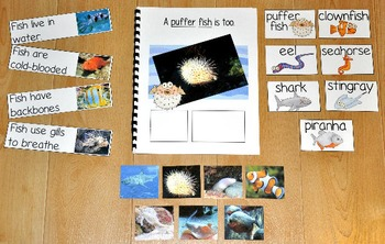 "Fish Adapted Book--""A Piranha is a Fish"" (w/Real Photos)"