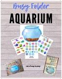 Fish Aquarium Busy Folder for Pretend Play Fun & Worksheet-Free Busy Work