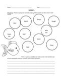 Fish Articulation Worksheet- Initial L