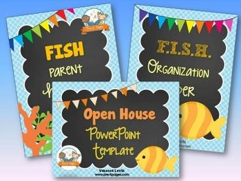 Fish Back-to-School Timesaver Bundle
