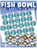 Fish Bowl ABC Match-up (Sensory Bin Mat)