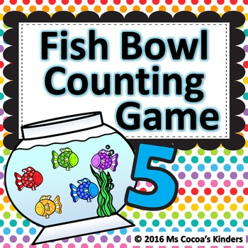 Counting Game - Fish Bowl
