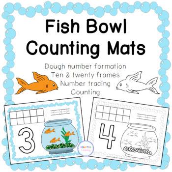 Fish Bowl Counting Mats