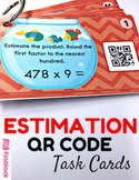 Estimation Task Cards with QR Codes