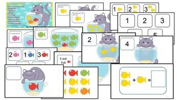 Fish Bowl Math Activities - Preschool; Kindergarten; Autism; Special Needs