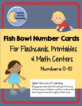 Fish Bowl Number Cards