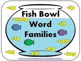 Fish Bowl Word Families Game Pack