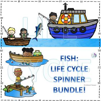 Fish Life Cycle Spinner Bundle #1