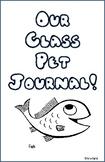 Fish Class Pet Journal