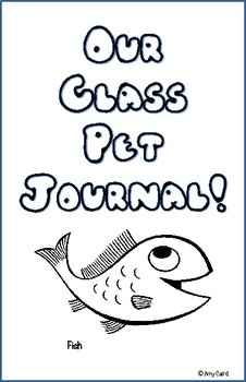 Fish Class Pet Journal