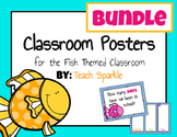 Fish Classroom Posters Bundle