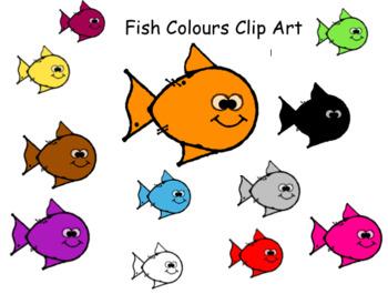 Fish Clip Art Colors