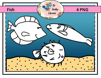 Fish Clip Art (Commercial Use)