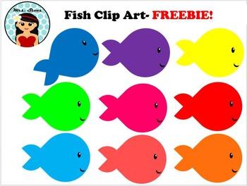 Fish Clip Art-FREEBIE!