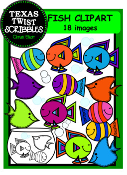 Fish Clip Art for personal and commercial use