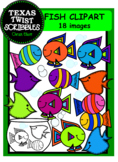 Fish ClipArt for endless ideas...forms, worksheets, invita