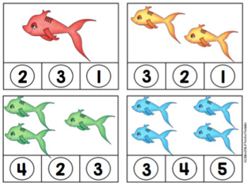 Fish Clip Cards