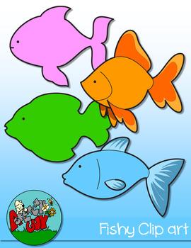Fish Clipart FREEBIE