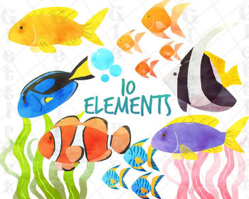 Fish Clipart, for personal and commercial use