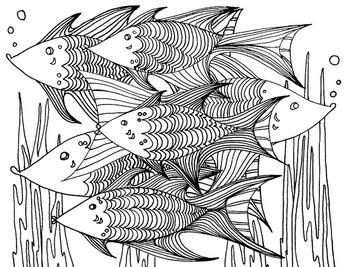 Fish Color Sheet