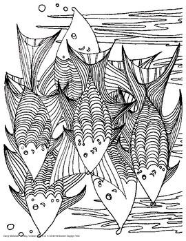 Fish Color Sheet PDF version