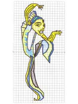 Fish Coordinate Graphing Picture