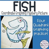 Fish (Blue Tang) Coordinate Graphing Mystery Picture!