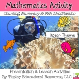 Fish in the Ocean Math Science Cardinality Numbers Interactive Whiteboard
