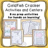 Goldfish Cracker Activities and Centers