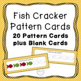 Fish Cracker Pattern Cards