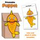 Fish Craft - Paper Bag Puppet Fish