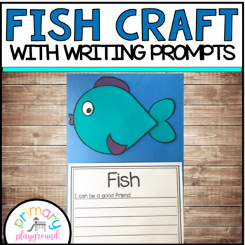 Fish Craftivity Worksheets Teaching Resources Tpt