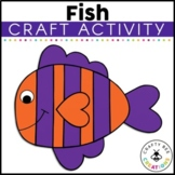 Fish Craft   Ocean Animals Activity   Sea Life   Ocean Habitat Activities