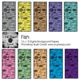 Fish Digital Backgrounds