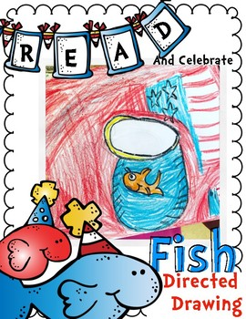 Fish Directed Drawing for Reading Celebration