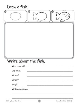 Fish (Draw...Then Write)